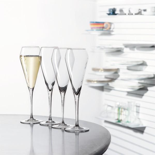 4 Champagnergläser Spiegelau - Willsberger Anniversary