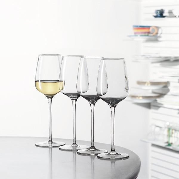 4 Weißweingläser Willsberger-Anniversary