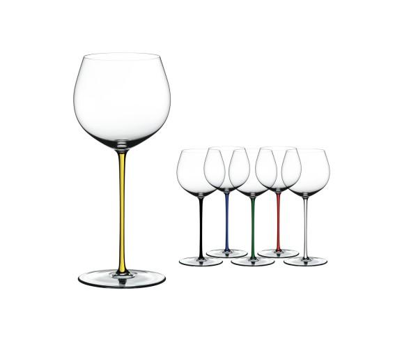 Riedel Fatto A Mano -Chardonnay, 6 Weingläser 7900/97, Gift Set