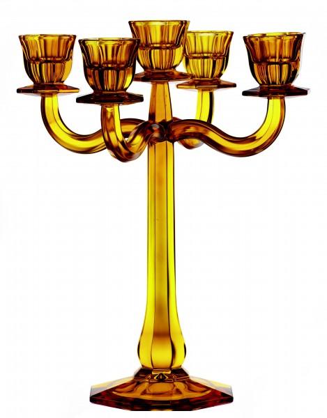 Kerzenleuchter Ravello 5-armig von Nachtmann in Bernstein