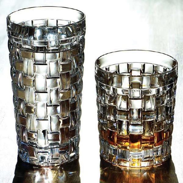 """4 Longdrinkgläser und 4 Whiskygläser """" Bossa Nova """"von Nachtmann"""