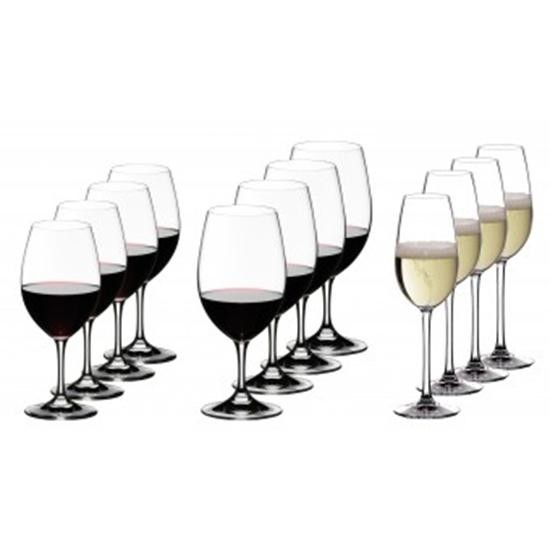 Riedel Ouverture Vorteilsset 4 Weißwein- 4 Rotwein- und 4 Champagnergläser 5408/93