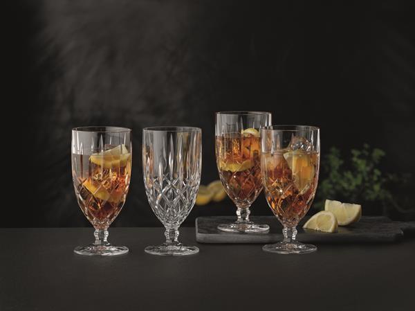 4 Nachtmann Noblesse Cocktailgläser, Eisbecher- Eiskaffee- Biertulpen