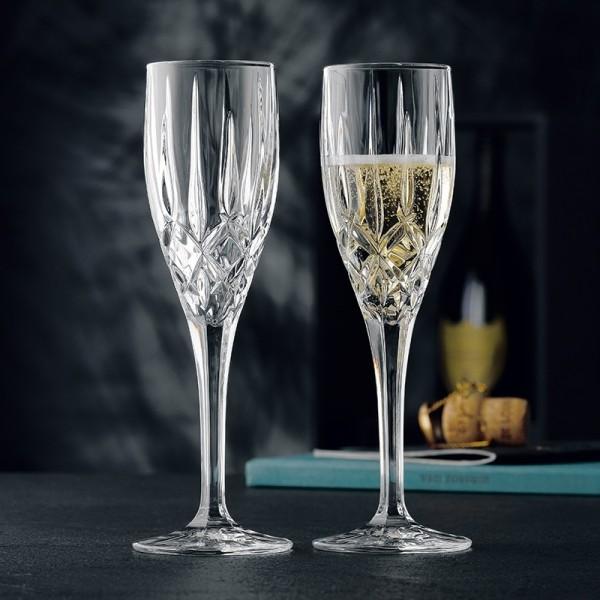 Nachtmann Noblesse Sektflöte, 2er-Set , Champagnergläser