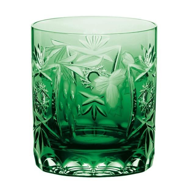 Whiskyglas Traube pur von Nachtmann, smaragdgrün