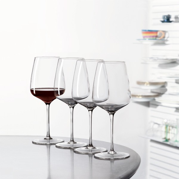4 Rotweingläser Bordeaux Willsberger-Anniversary