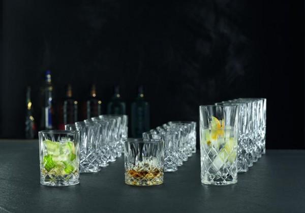 Nachtmann Noblesse 18 - tlg. Set, 6 Longdrink- 6 Whisky und 6 Whisky SOF Gläser